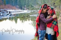 Forest Engagement Photography - Woodland Couple Photos - Calgary Wedding Photographer - Cochrane Wedding Photographer