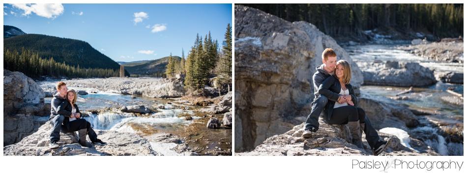 Kaninaskis Alberta Engagement Photography