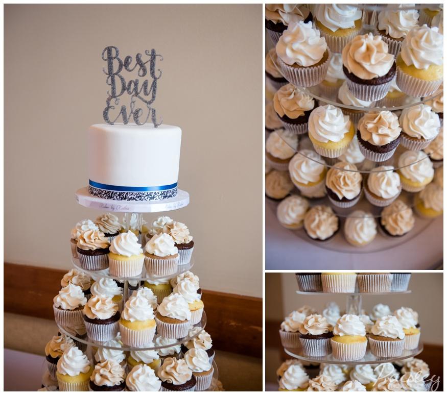 Cupcake Wedding Cake Tower