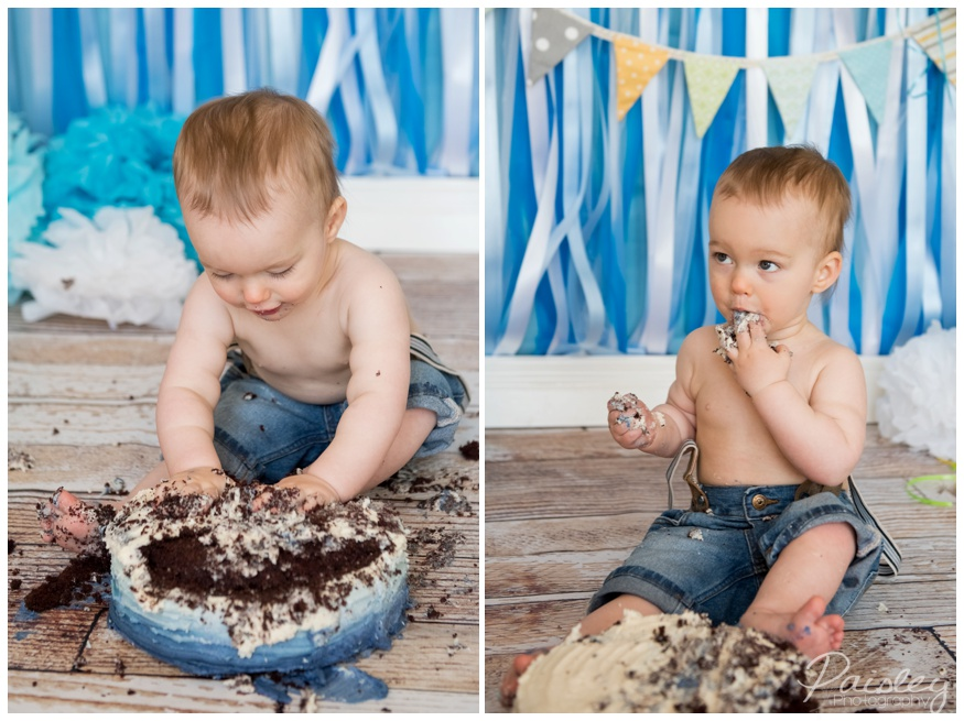 Airdrie Cake Smash Photography