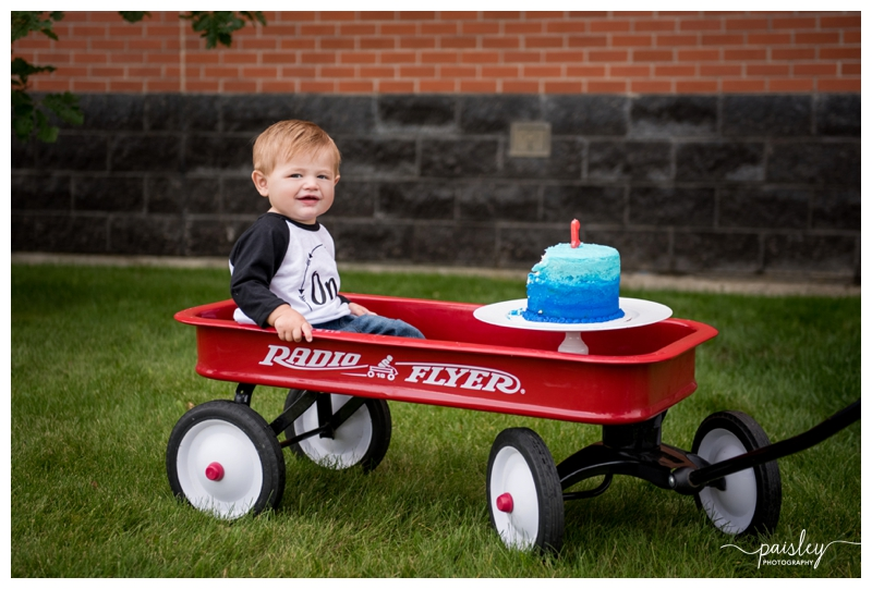 Calgary Cake Smash Photography