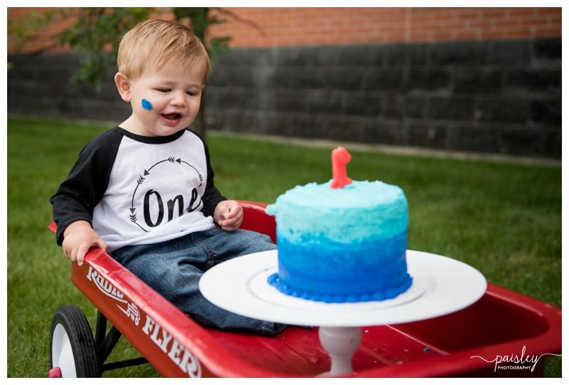 Calgary First Birthday Photographer