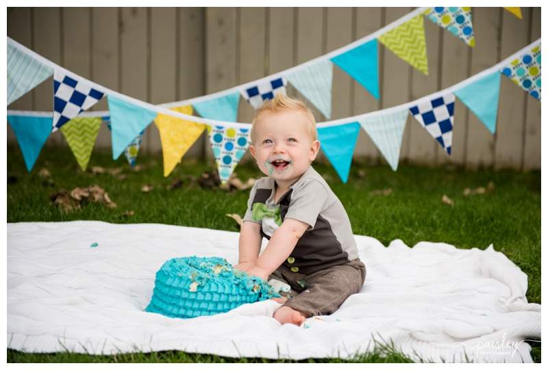 Okotoks Cake Smash Photography