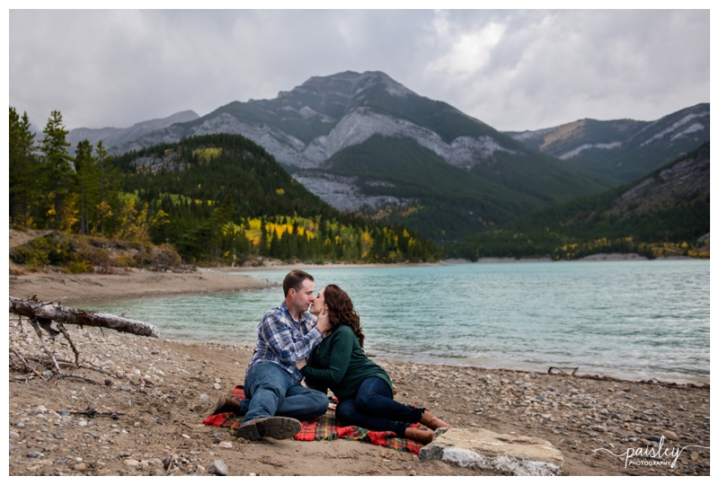 Mountain Engagement Photography Canmore