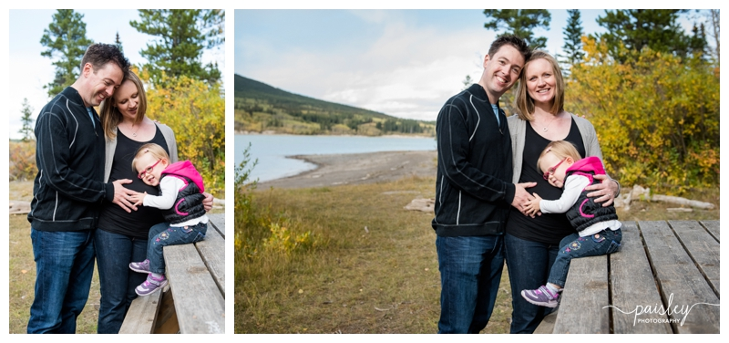Barrier Lake Maternity Photography