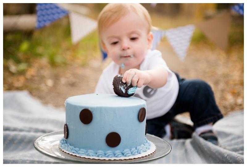 Cake Smash Photography Session Calgary