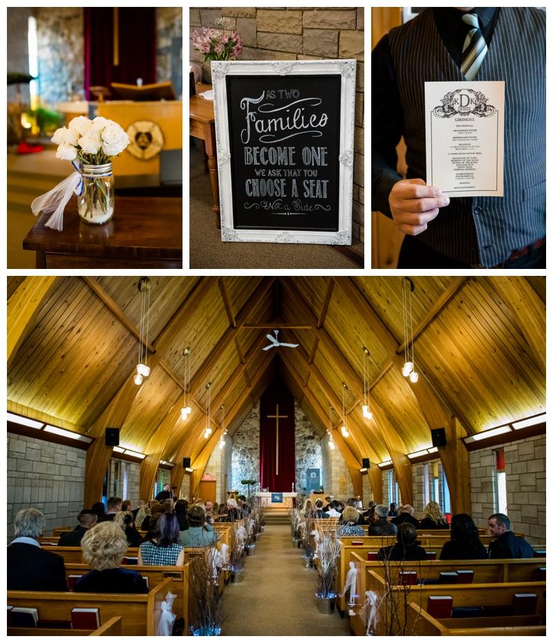 Olds Alberta Lutheran Church Wedding