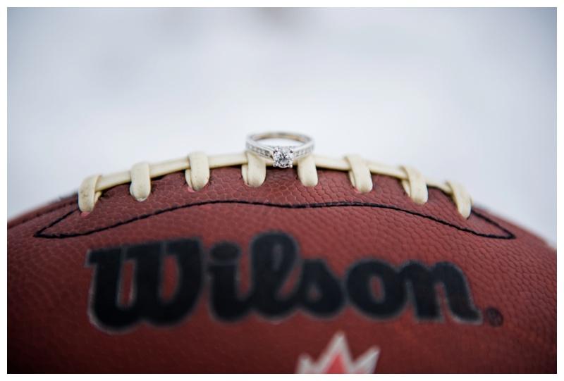 Football Engagement Photos