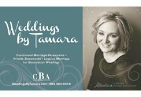 Weddings by Tamara - Calgary Wedding Officiant