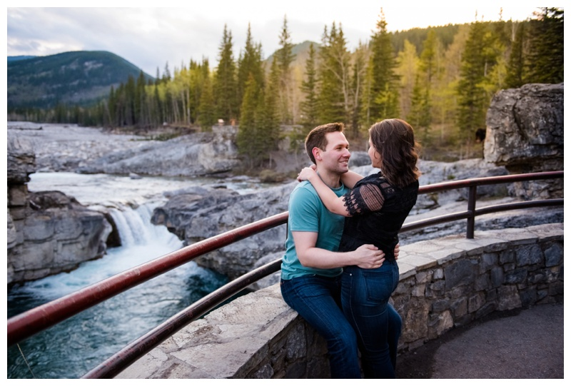 Elbow Falls Engagement Session