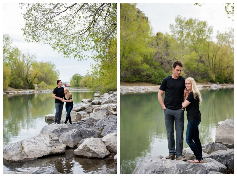 Engagement Photos in Downtown Calgary