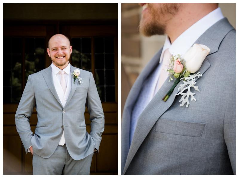 Groom Portraits Banff Wedding Photos