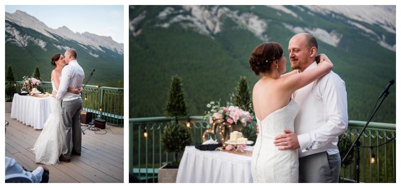 Banff Hotel Wedding Reception