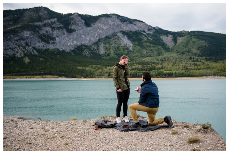 Banff Wedding Proposal Photography