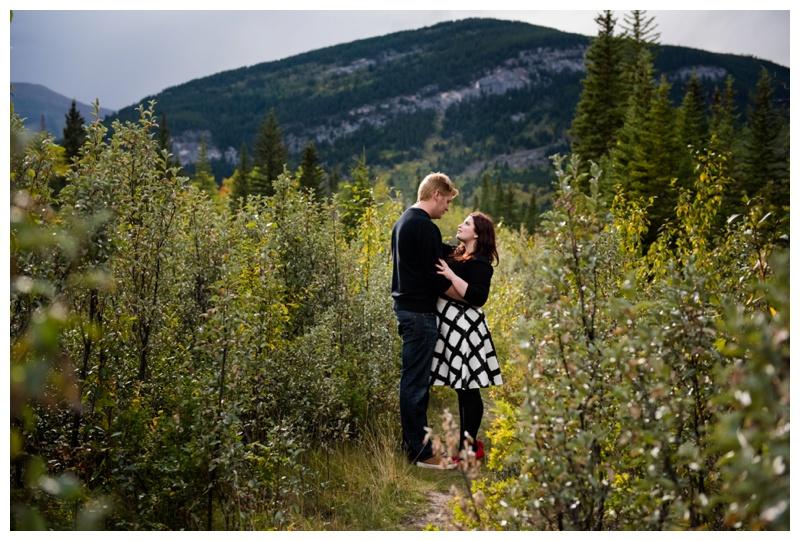 Rocky mountain Engagement Photos Alberta
