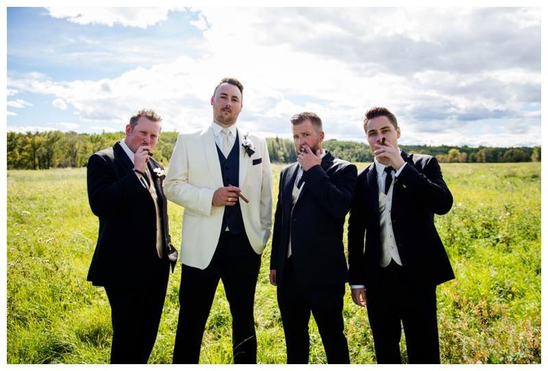 Groomsmen Wedding Photography Calgary