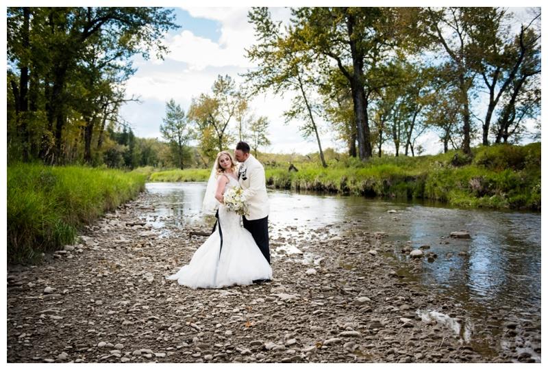 Fish creek Park Wedding Photos Calgary