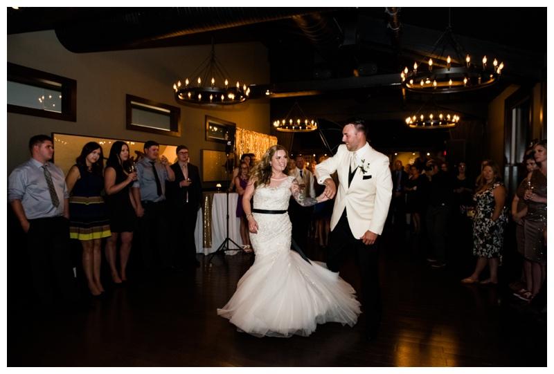 Calgary First Dance Wedding Photos