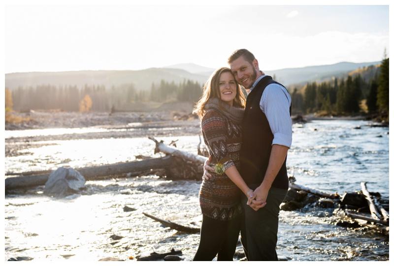 Engagement Session Bragg Creek Alberta