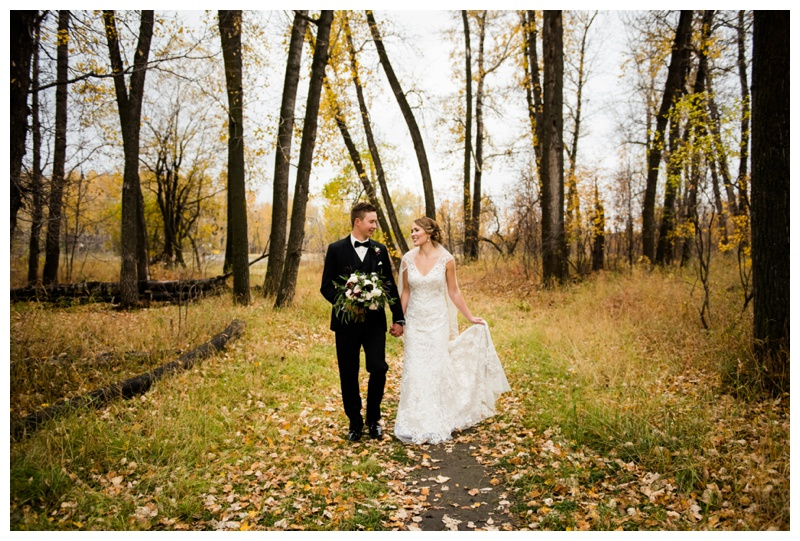 Fall Wedding Photography Calgary