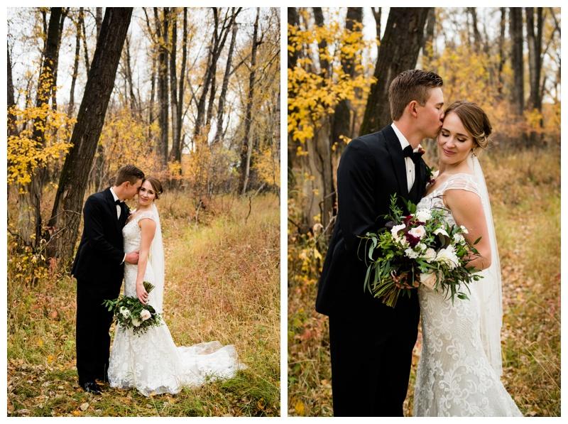 Fall Wedding Calgary Alberta