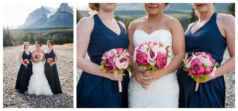 Canmore Bridesmaid Photography