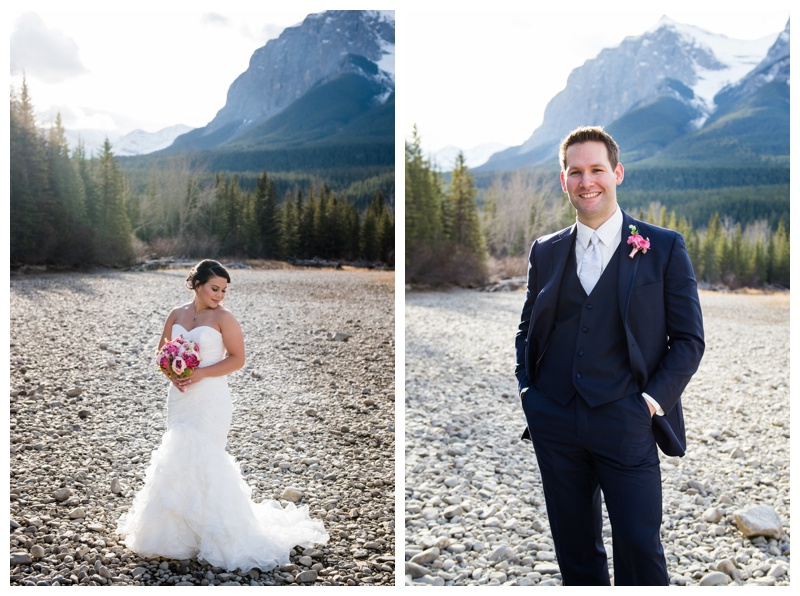 Bride & Groom Wedding Photography Canmore