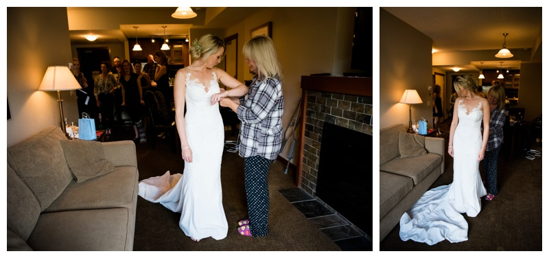 Bridal Getting Ready Photography Canmore