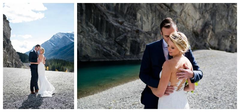 Spray Lake Canmore Wedding