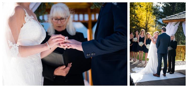 Canmore Mountain Wedding