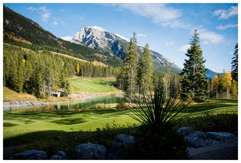 Canmore Golf Course Wedding