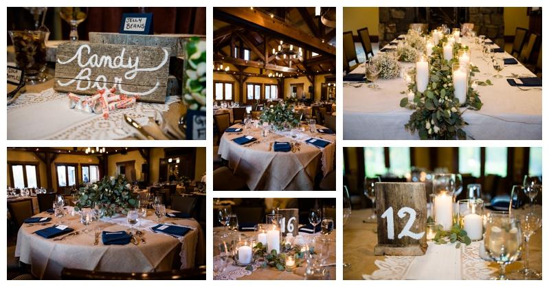 Canmore Silvertip Resort Wedding Reception