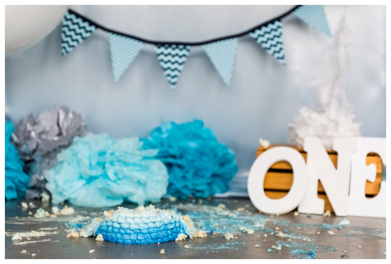 Calgary Studio Cake Smash Photos