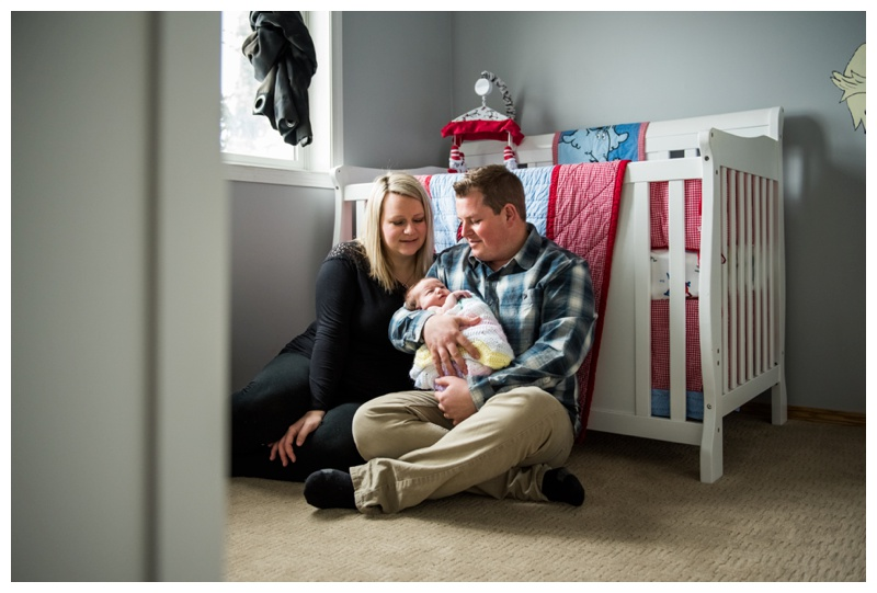 Family Newborn Photography Okotoks