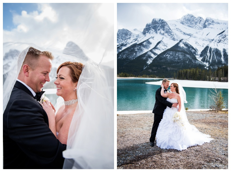 Canmore Bride & Groom Portraits