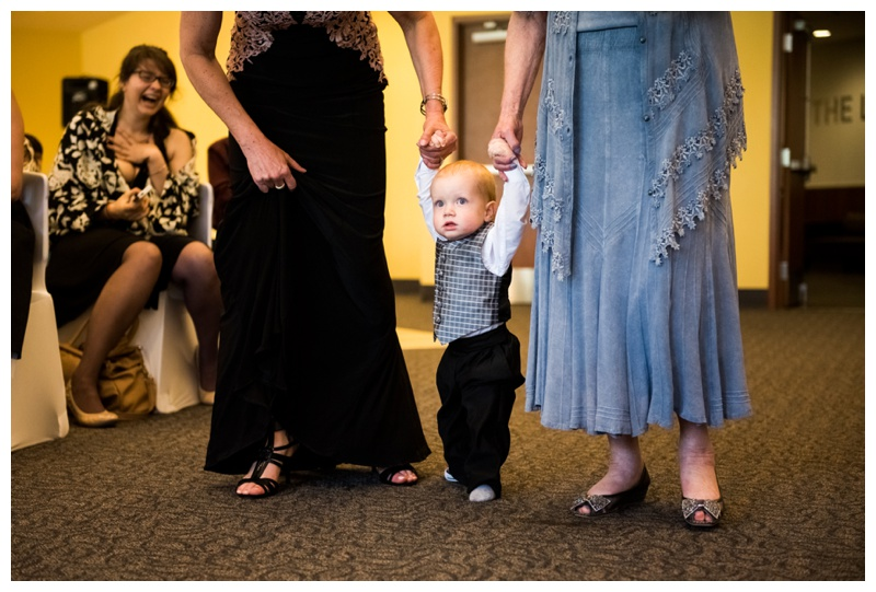 Alberta Room Wedding Ceremony