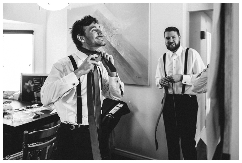 Calgary Groom Prep Wedding Photography