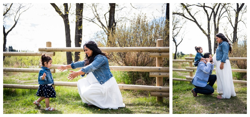 Spring Maternity Session Calgary