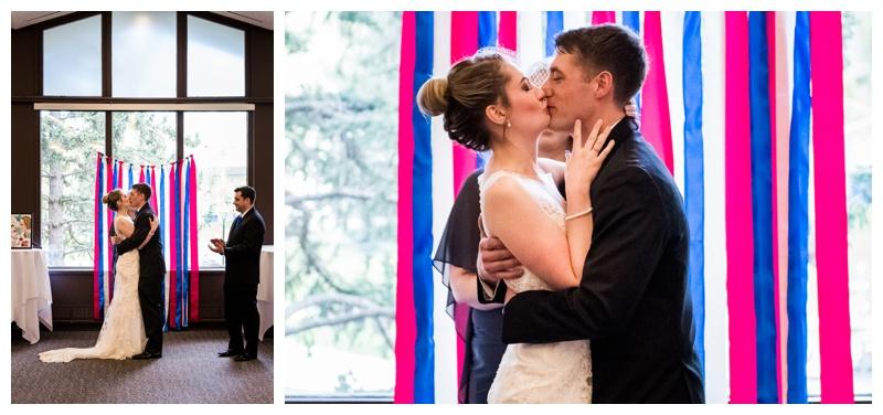 University of Calgary Wedding Ceremony