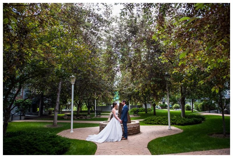 Calgary Downtown Wedding Photos