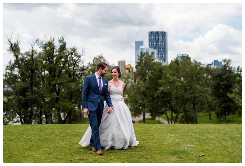 Calgary St. Patrick Island Wedding Photographer
