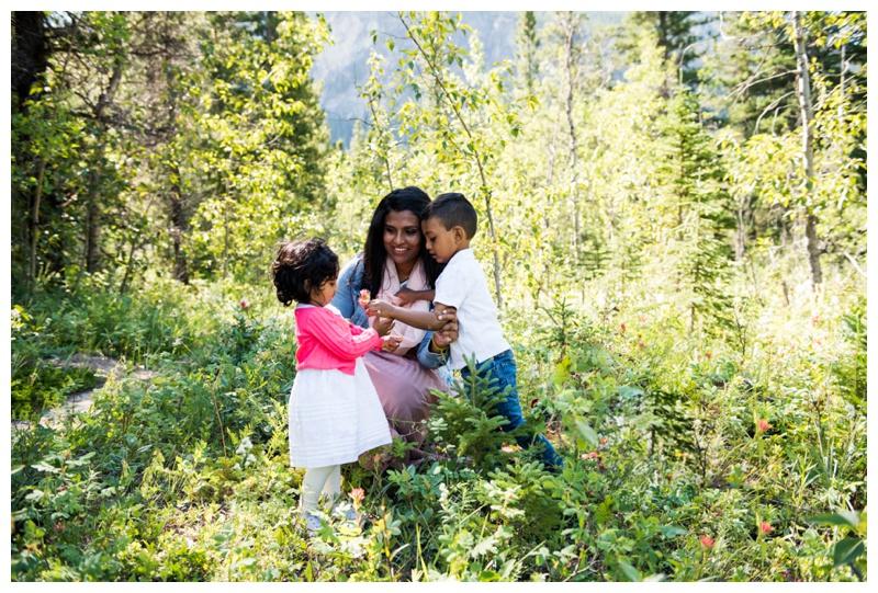Summer Barrier Lake Kananaskis Family Session