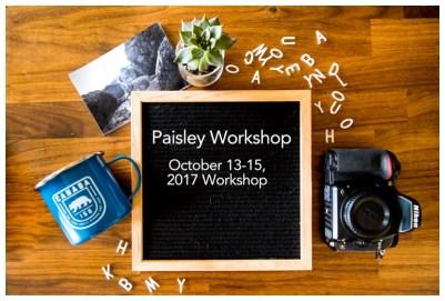 Paisley Workshop