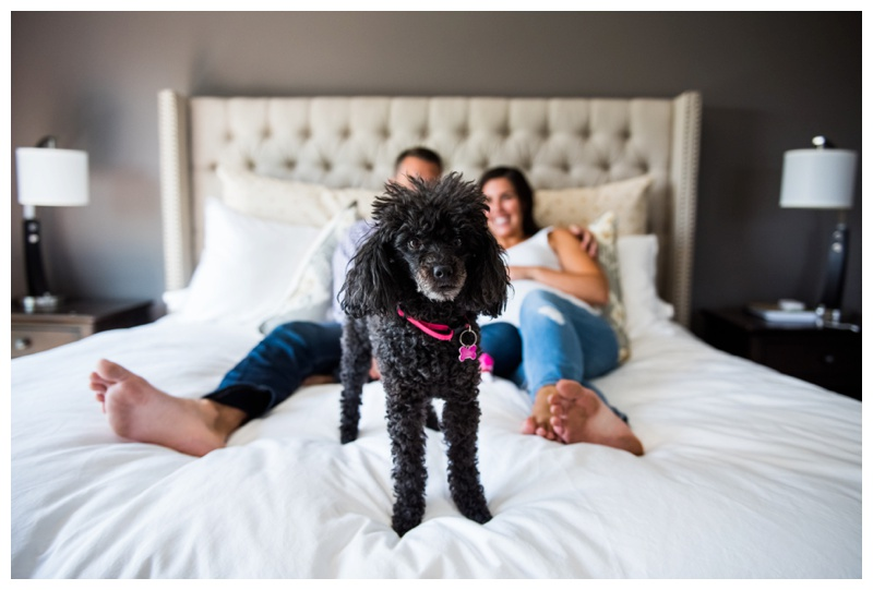 Calgary At Home Maternity Photography