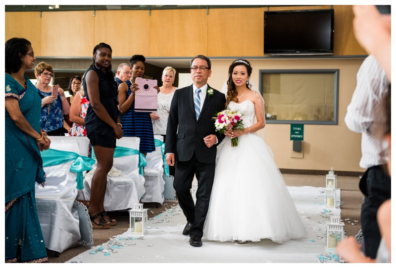 Calgary Church Wedding Ceremony Photography