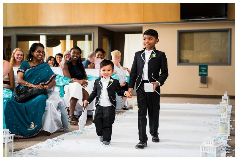 Calgary Church Wedding Ceremony Photos