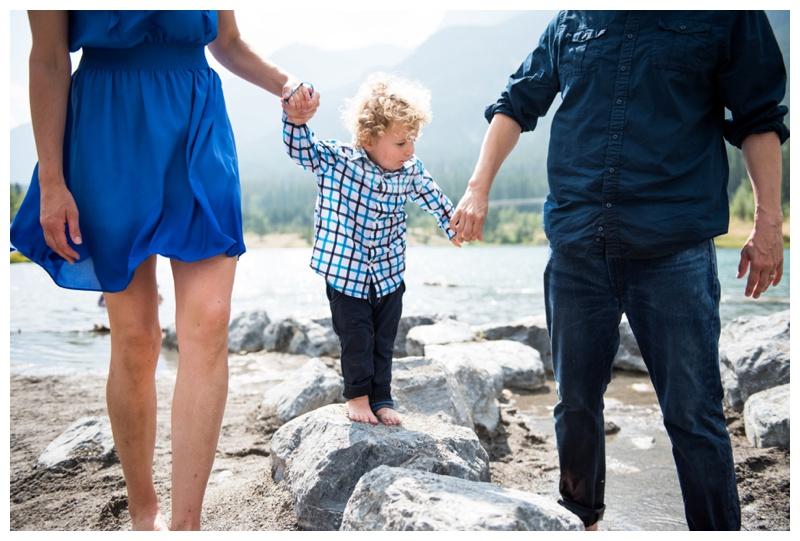 Canmore Alberta - Quarry Lake Family Photos