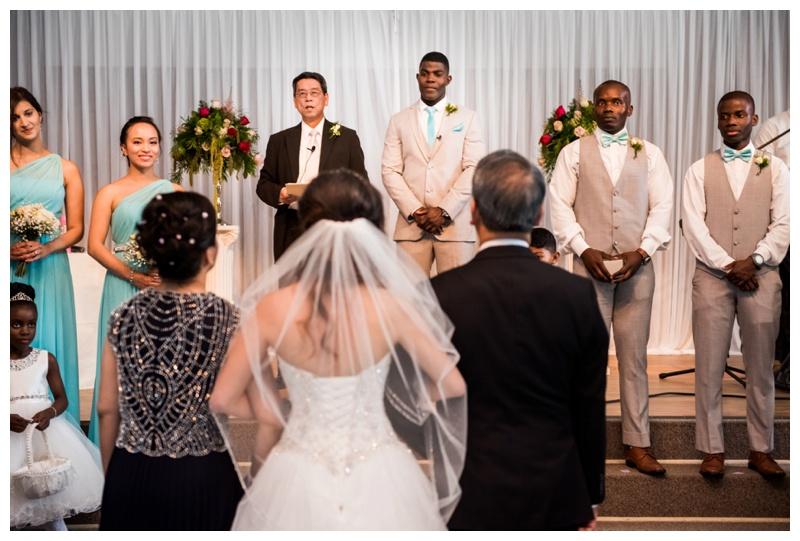 Church Wedding Ceremony Photos Calgary