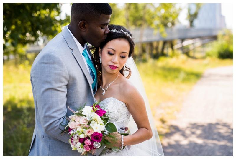 St. Patricks Island Wedding Photography Calgary