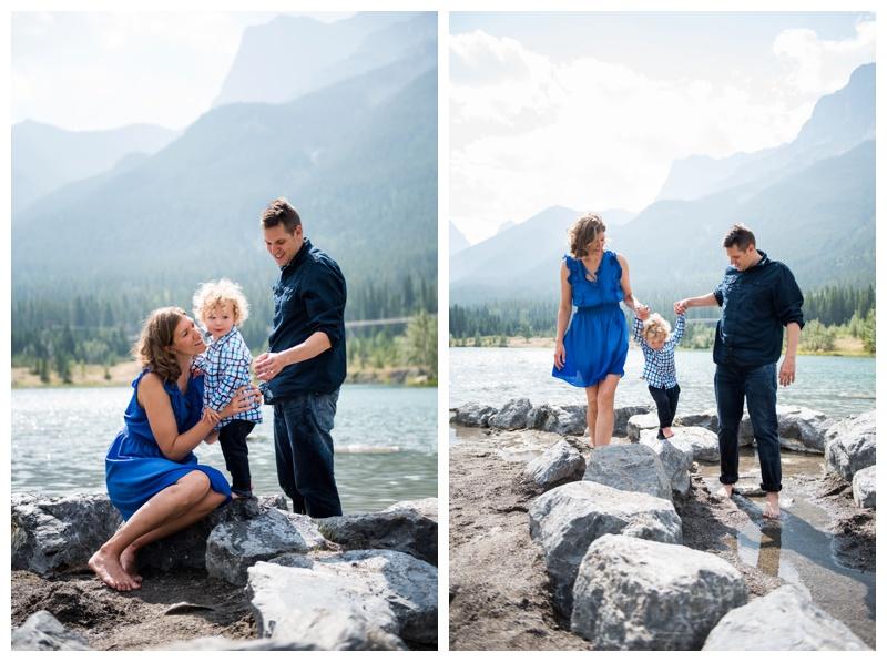Summer Canmore Family Photos
